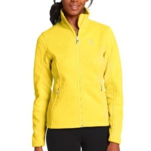 SPYDER Yellow Core Endurance Zip Front Sweater